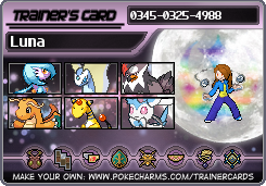 Luna Trainer card plus mini-bio by GuardianofLightAura