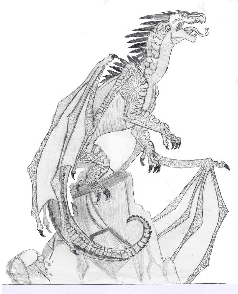 Starflight the dragon by jaela23 on DeviantArt