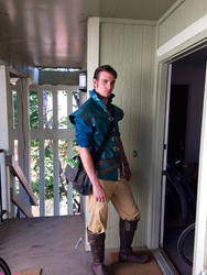 Flynn Rider from tangled by 23rddaycosplay