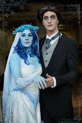 Corpse Bride couple by Colin Kelly by 23rddaycosplay