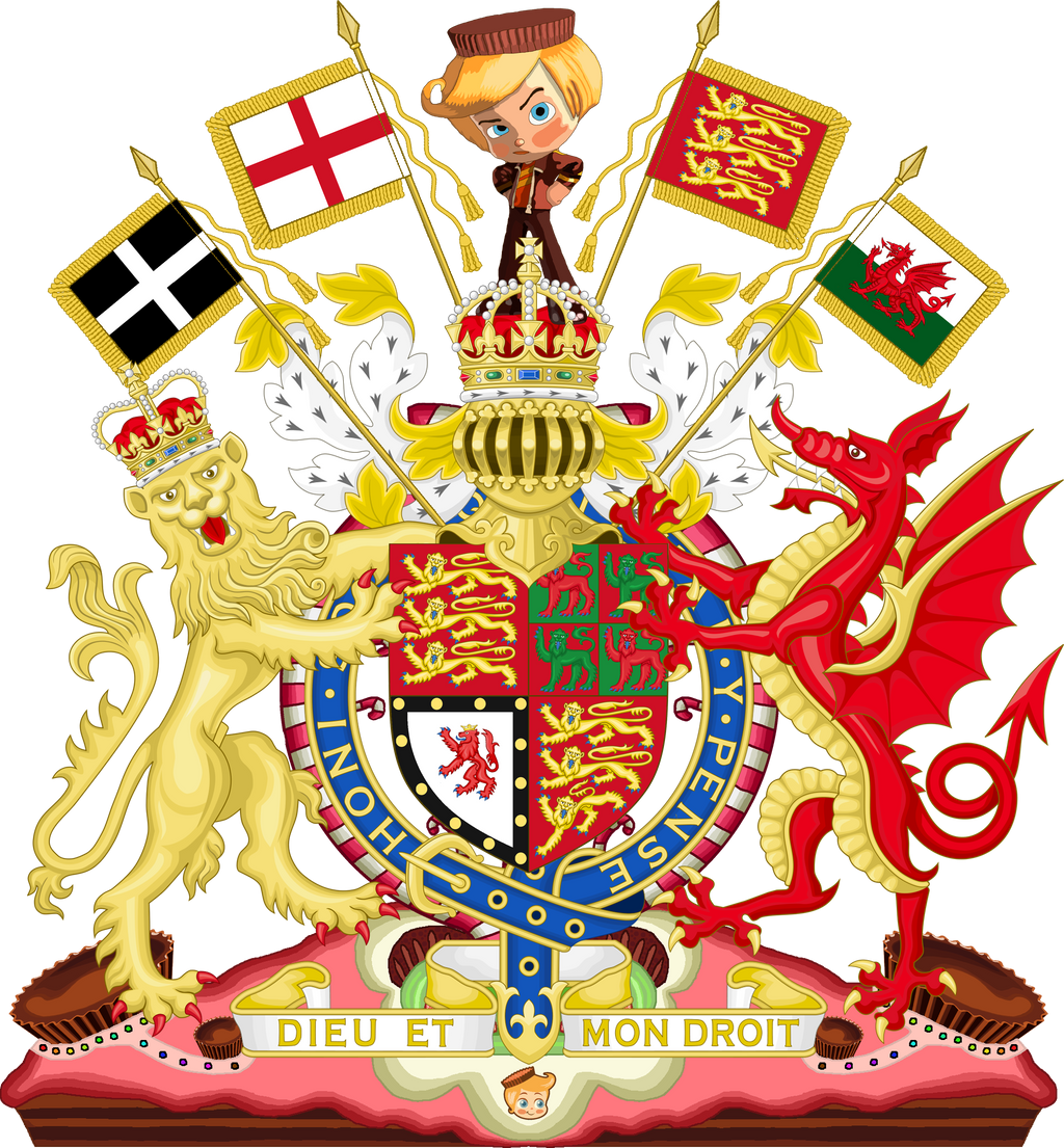 Coat of arms of England: history and description. What does he have in common with the emblem of Great Britain 17