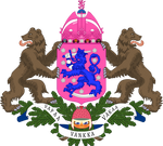 Middle coat of arms of Taffy Finland (IM)