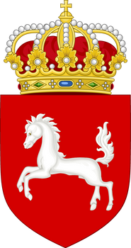 Lesser coat of arms of Hanover (IM)