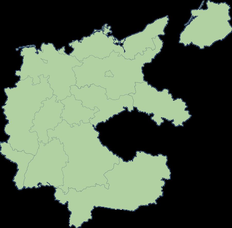 Deutsches Reich Karte.Karte Deutsches Reich Im By Ericvonschweetz On Deviantart