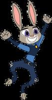 Cheering Judy Hopps (Fyrwet)