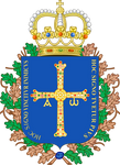 Alternative coat of arms of Asturias