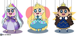 Puppet Princesses of Mewni