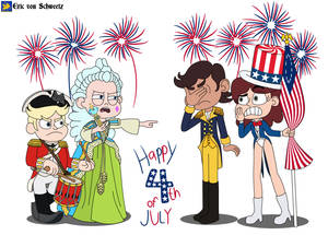 Moon and River's ways of celebreting 4th of July