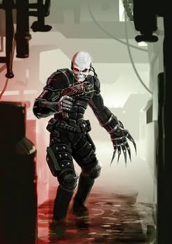 warhammer 40k Eversor Assassin by Schnedler