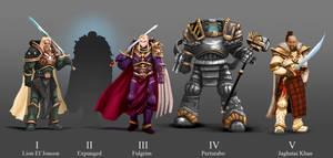 Warhammer 40 K Primarcs  The First 5