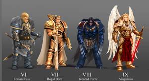 Warhammer 40 K Primarcs The next 4