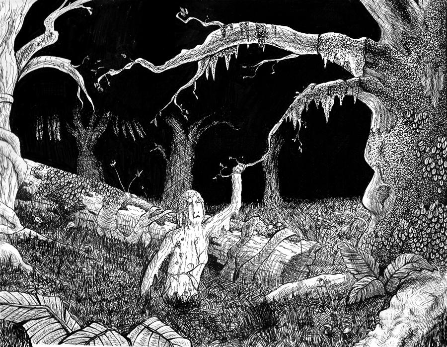 Forest Girl by Ozkumeti