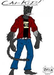 Cat Kid colored