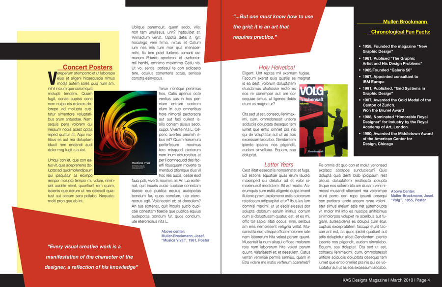 magazine article layout 2 by spelka24 on deviantart