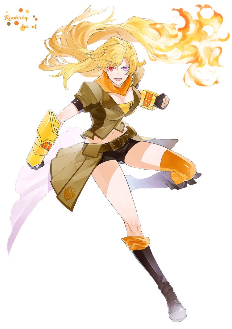Yang Xiao Long Render by bae-af