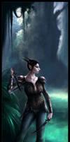 Night Elf - Nehtara by Drakevensia