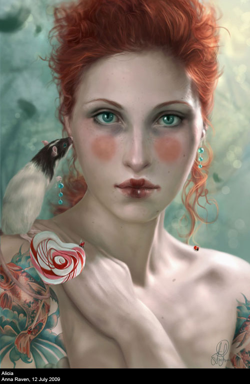 Alicia by Drakevensia