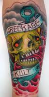 Wreckage Kult Tattoo