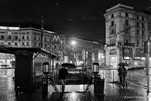 Rainy Milano 1 by wulfman65