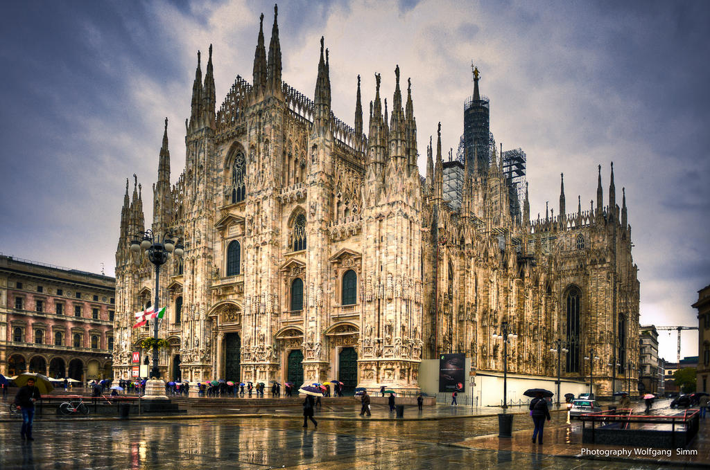 Milano Cathedral By Wulfman65 On Deviantart