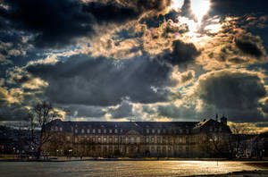 Neues Schloss by wulfman65