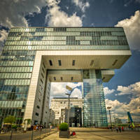 The Crane House Cologne 2 by wulfman65