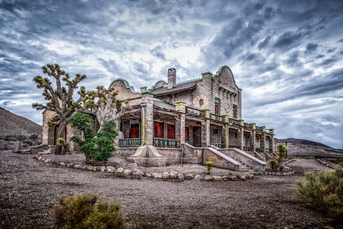 Ghosttown Rhyolite, Nevada-2 by wulfman65