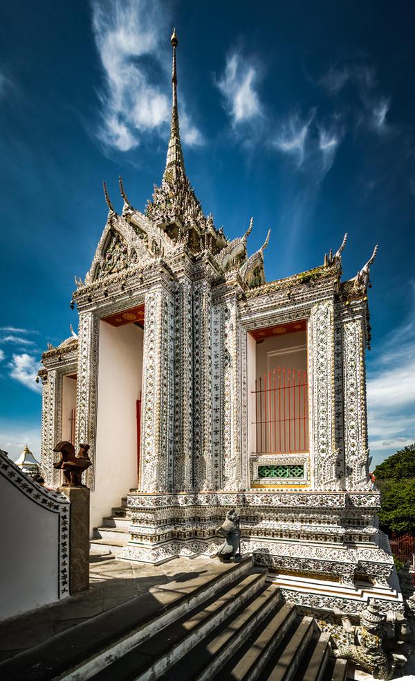 Tempel In Bangkok Edit by wulfman65