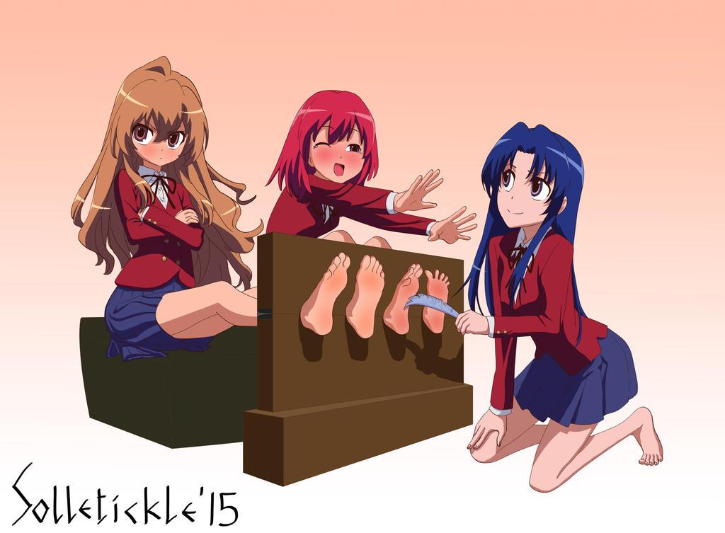 anime tickling