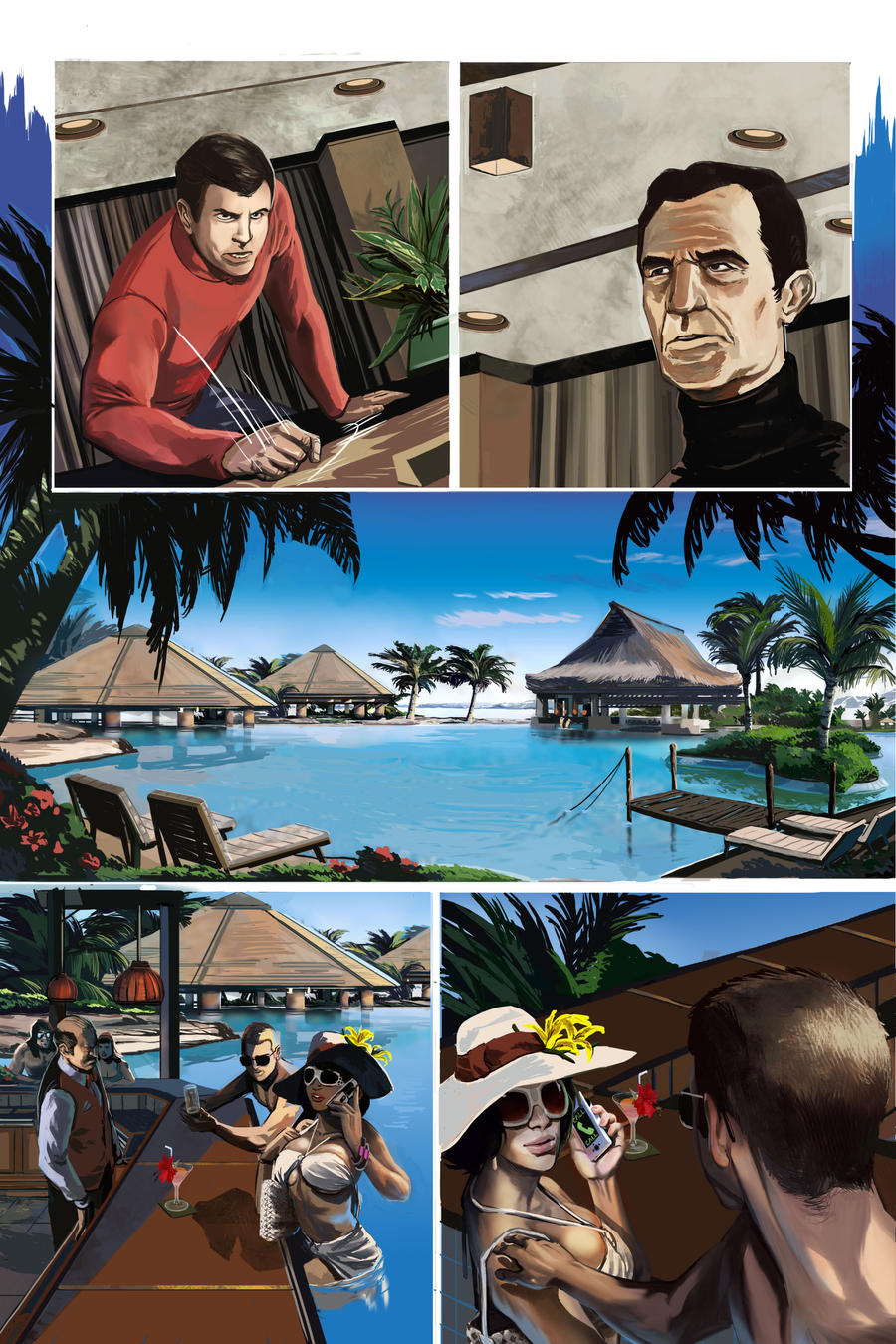 Space 1999 page 15 by davidhueso