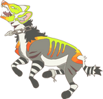 Neon Hyena -Closed- by dream-amid-flowers
