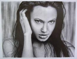 Angelina Jolie by ALEJANDROxxx