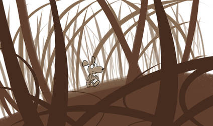 Kouini Explores The Giantess' Forest by Dangerking11