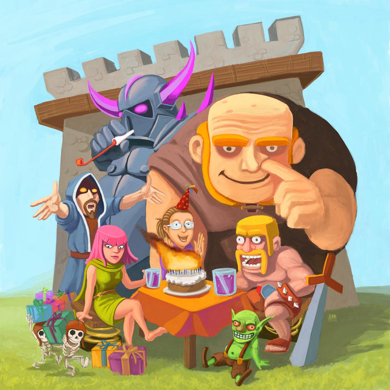 Best Of: Clash Of Clans Fan Art By Danlev On DeviantArt