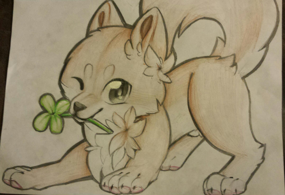 doge wishes you a merry leprechaun day by taconoobgamer on deviantart