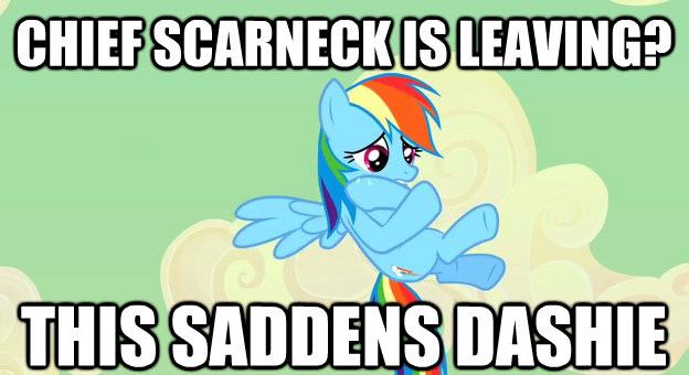 Sad Dash - Chief Scarneck by AdamTheJoker