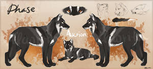 Faded Black Wolf USD Auction - CLOSED