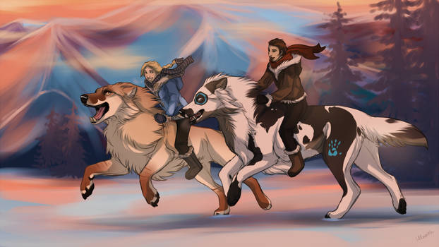 Running by Hlaorith