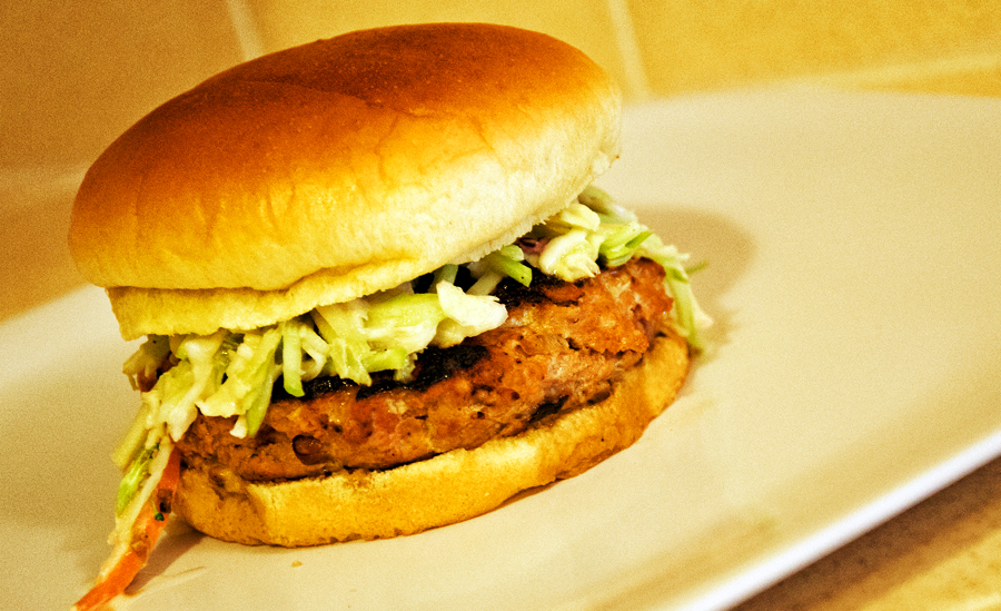 Honey Barbecue Turkey Burger by pintor-verde