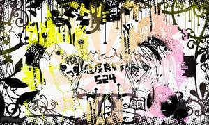 Matryoshka Gumi and Miku Background