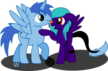 silly friends! by Imansattarzadeh