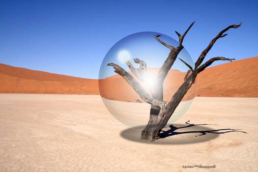 Desert Glass Ball