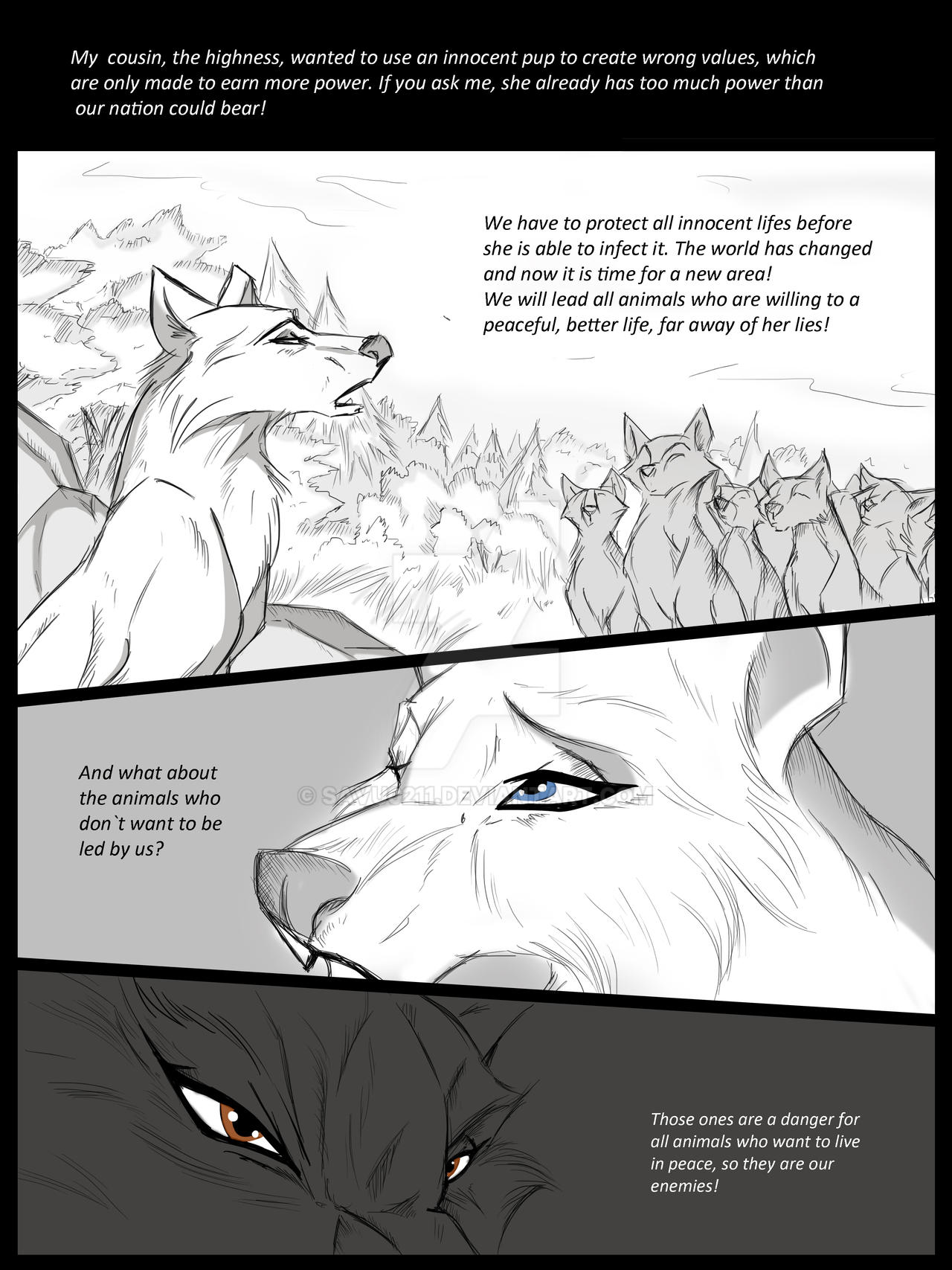 Behind the woods P13 by Savu0211