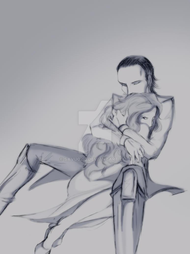 Sigyn and Loki by Savu0211