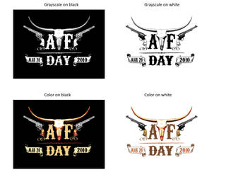 ATF Day Logos by redgiant