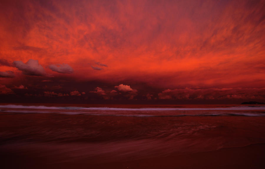 Sunset After The Storm by jbrum
