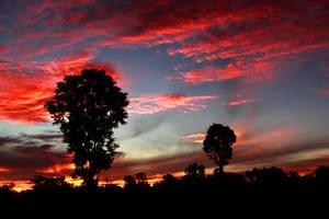 Isaan Sunrise by jbrum