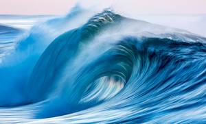 Blue Liquid Morning