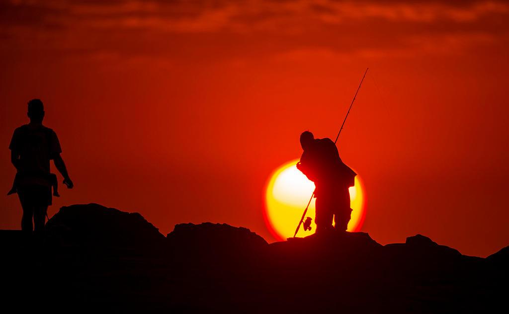 Sunrise Fishing by jbrum