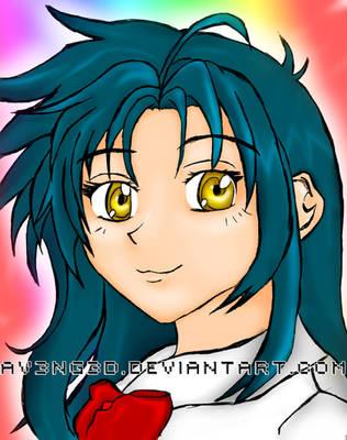 Kanami Chidori Colored. by aV3nG3d